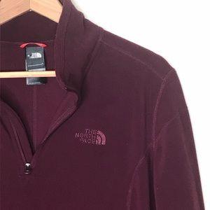 North Face Sz XL Quarter Zip Sweater